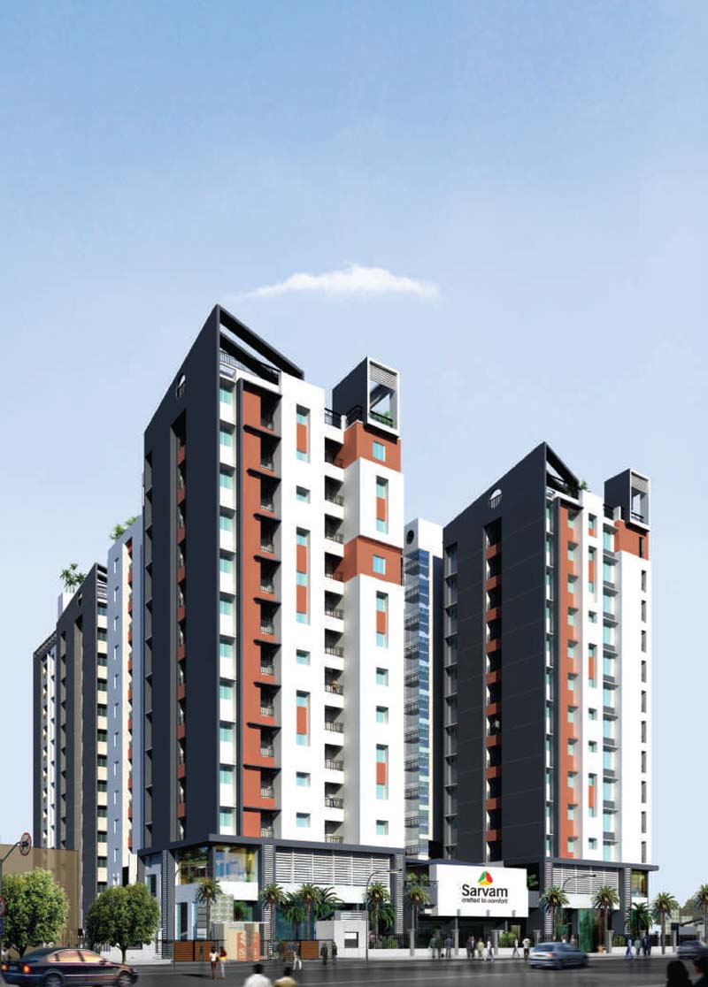 Velachery Apartments Elevations